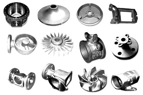 Отливки из чугуна, стали и цветных металлов